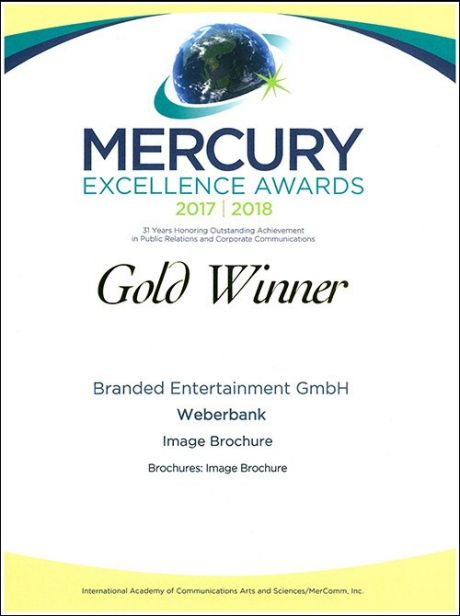 Mercury Excellence Awards 2017 | 2018