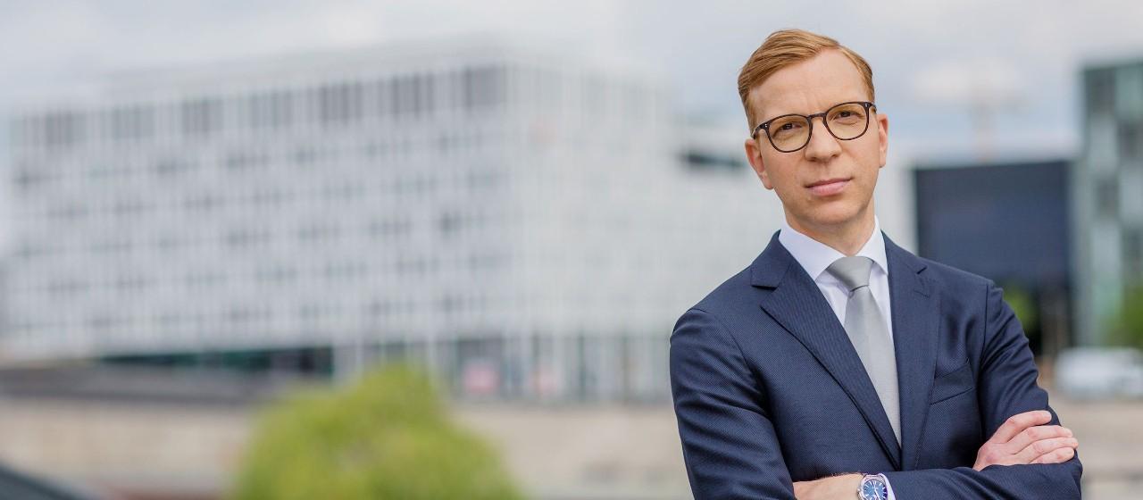 Foto Daniel Schär, Leiter Portfoliomanagement Weberbank Actiengesellschaft