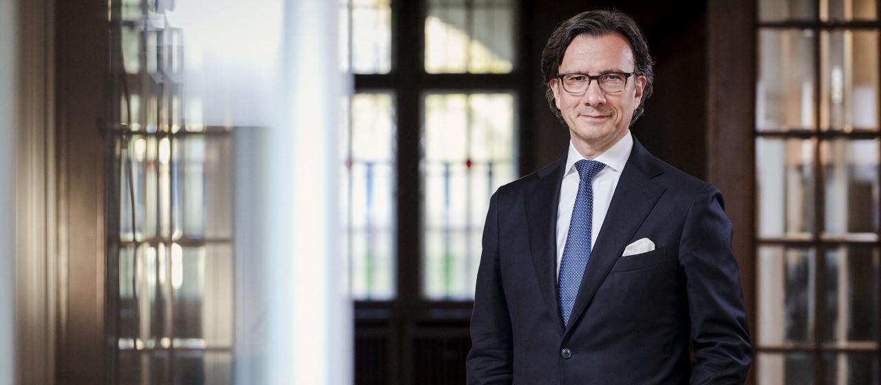 Foto Klaus Siegers, Vorsitzender des Vorstands Weberbank Actiengesellschaft